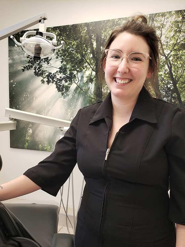 Isabelle Nolet, hygiéniste dentaire