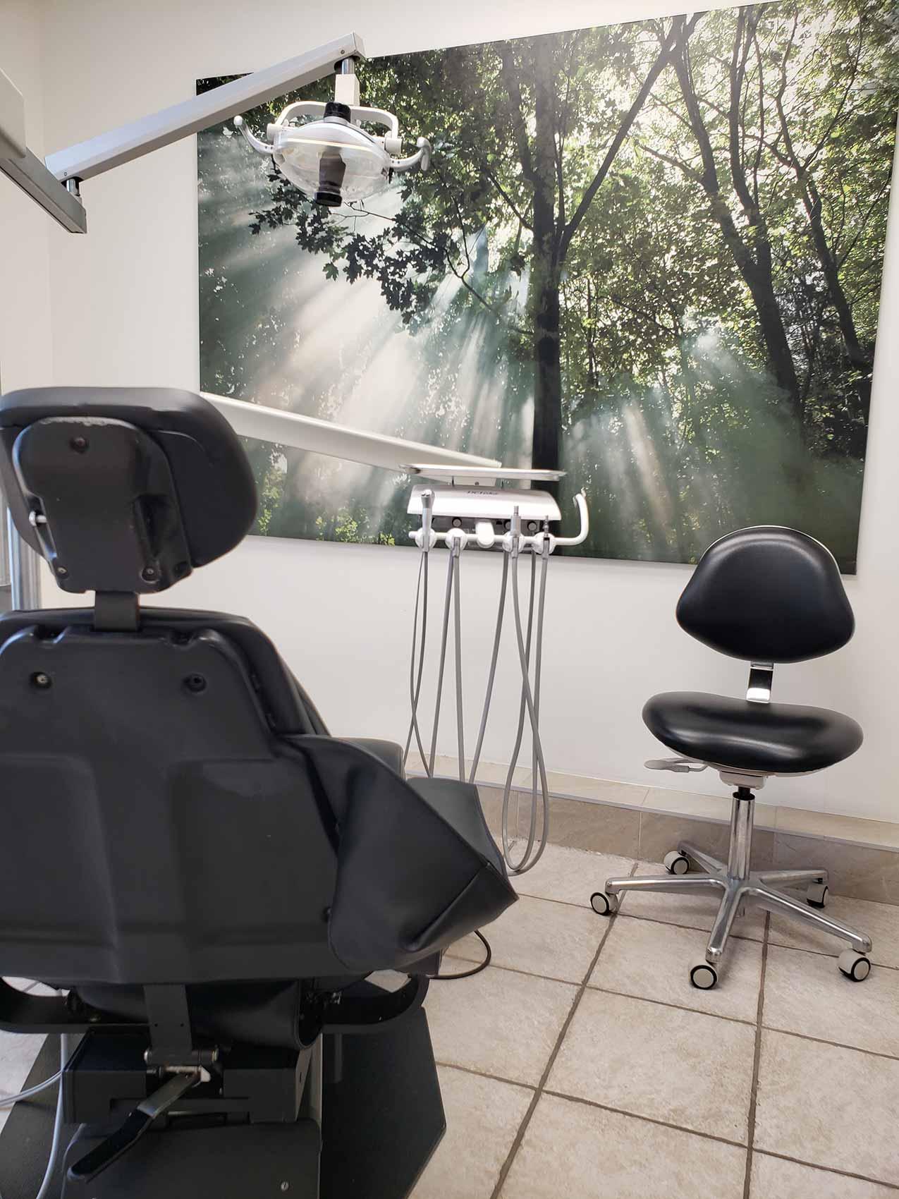 salle d'examen dentaire - Clinique dentaire Richard Landry