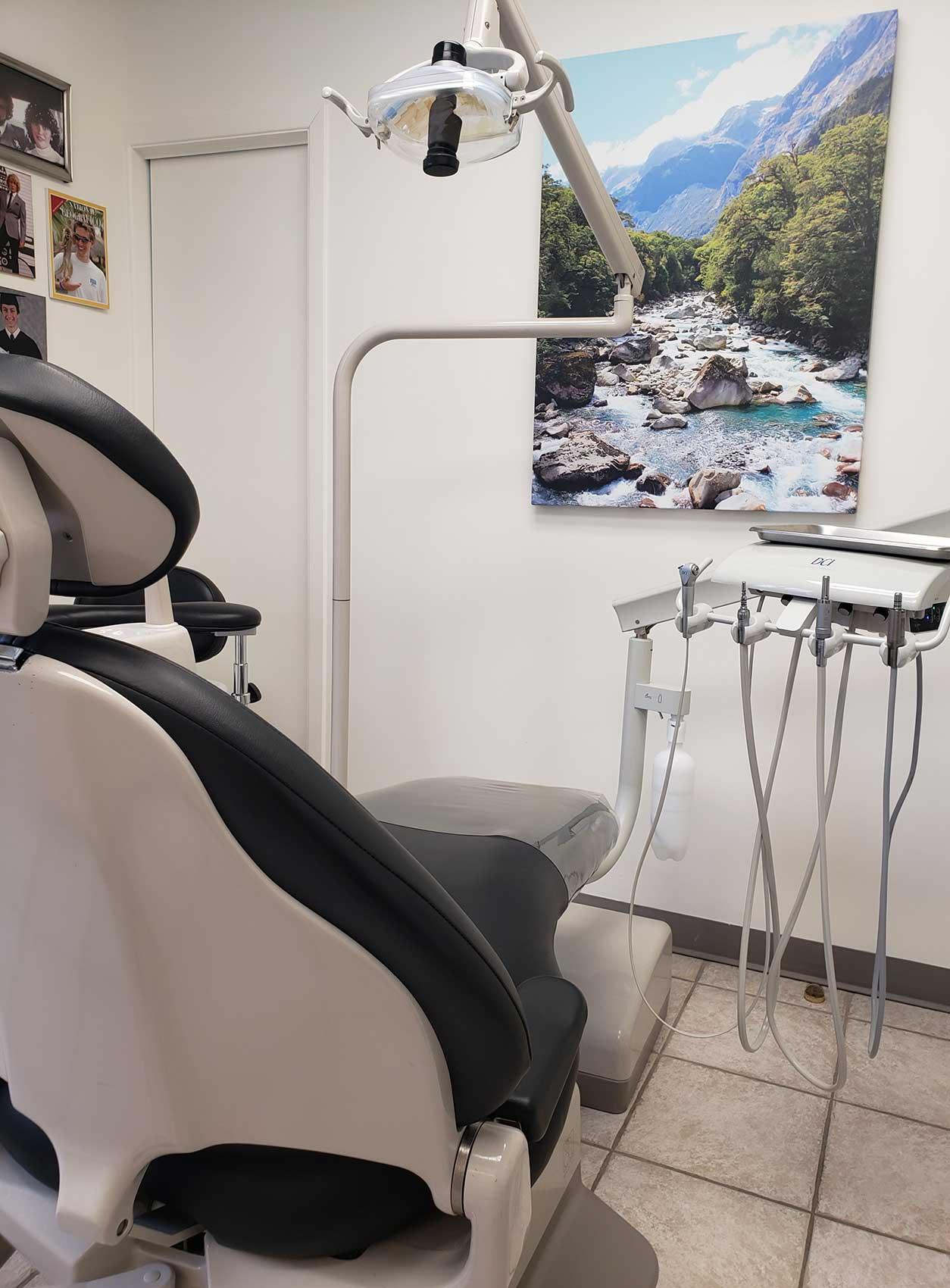 salle d'attente- Clinique dentaire Richard Landry