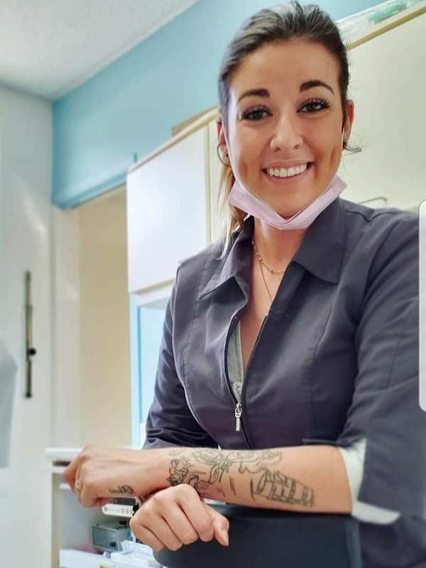 Stéphanie Bertrand, secrétaire et assistante dentaire